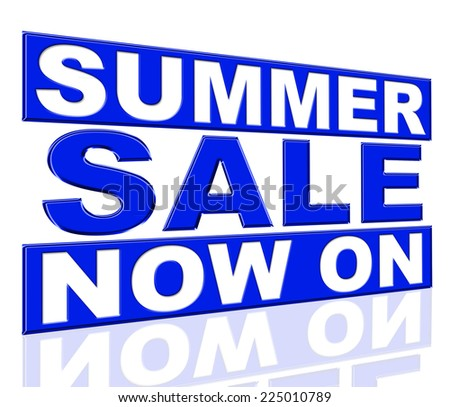 Summer Sale Showing At The Moment And Promo