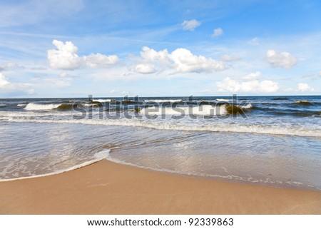 Summer Sea - stock photo