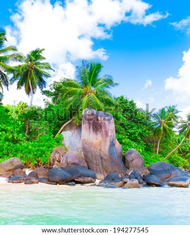 Summer Shore Seascape  - stock photo