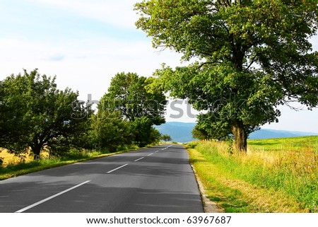 Summer travel - stock photo