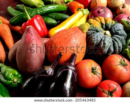 Summer vegetables