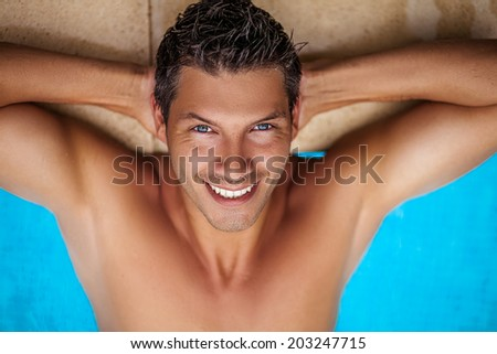 summertime break vacations relaxing spa hotel - stock photo