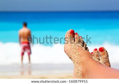 Summertime concept - stock photo