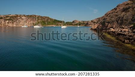Summertime in sweden - stock photo