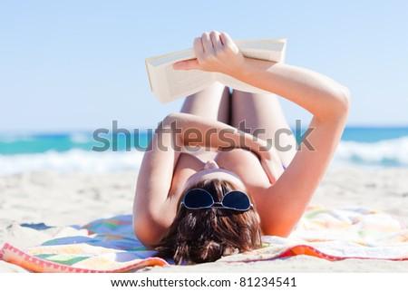 summertime traveling - stock photo