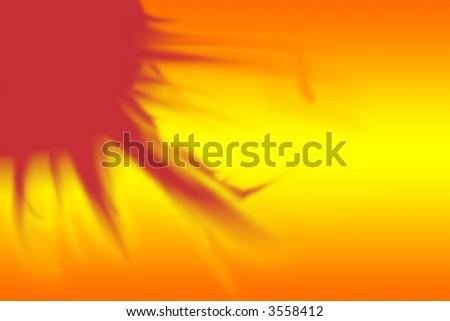 Sun Background - stock photo