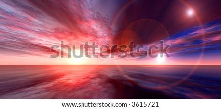Sun Boost - stock photo