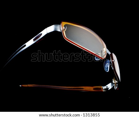 Sun glasses floating - stock photo