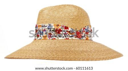 sun hat - stock photo