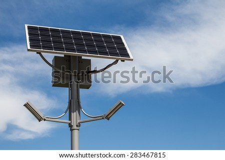 Sun Power Street Light