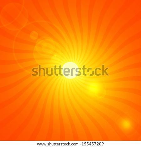 sun,rays moving background  - stock photo