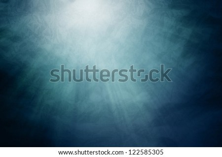Sun Shades & Lights Under Water - stock photo