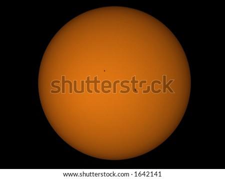 Sun Spots - stock photo