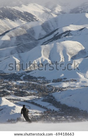 Sun Valley, Idaho - stock photo