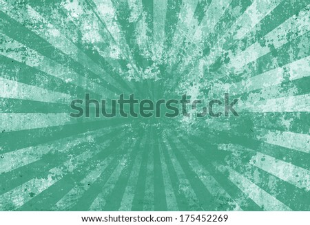 Sunbeam on grunge background - stock photo