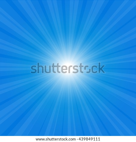 sunburst background illustration yellow sky