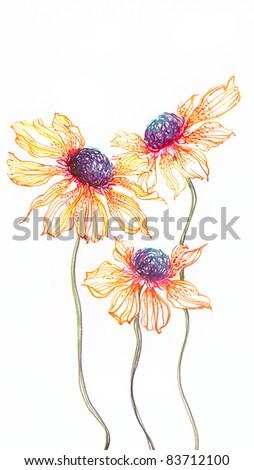 Sunflower 1 - stock photo
