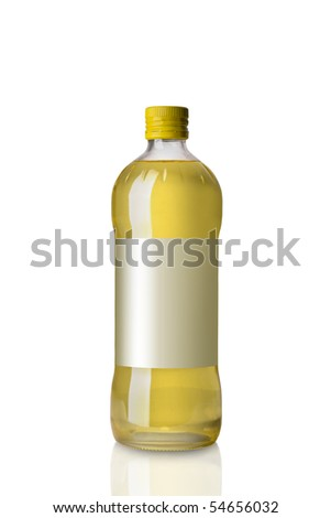 sunflower oil salad dressing - stock photo