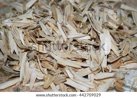 sunflower seeds peel