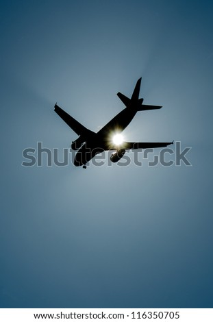 Sunflyer - stock photo
