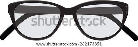 sunglasses blacks view girly rounded sale pharmacy - stock photo
