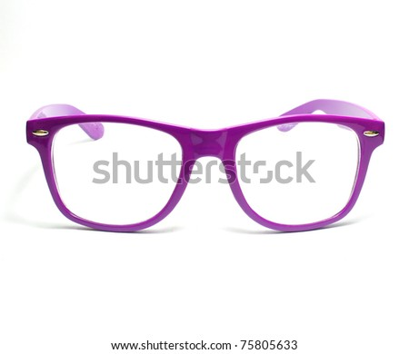 sunglasses isolated on a white background. - stock photo