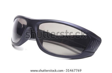 sunglasses men accessory isolated on white background
