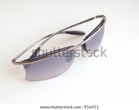 Sunglasses on a white background - stock photo