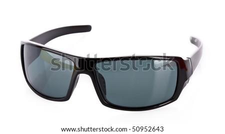 Sunglasses over white - stock photo