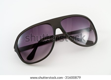 Sunglasses Shade Black - stock photo