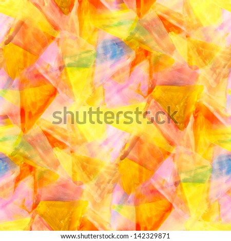 sunlight abstract yellow watercolor yellow red green blueseamless texture hand painted background