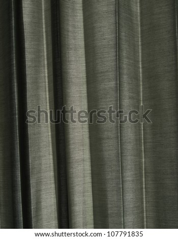 Sunlight Through a Grey Curtain