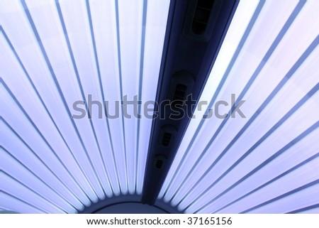 sunning bank - stock photo