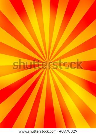 Sunny Background - stock photo