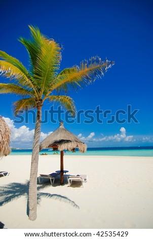 Sunny Beach - stock photo