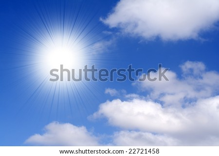 Sunny day - background