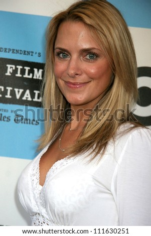 "Sunny Doench at the 2007 Los Angeles Film Festival screening of ""The Beautiful Ordinary"". Landmark's Regent Theater, Westwood, CA. 06-22-07"