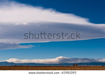 Sunny Morning on The Colorado Plains - stock photo