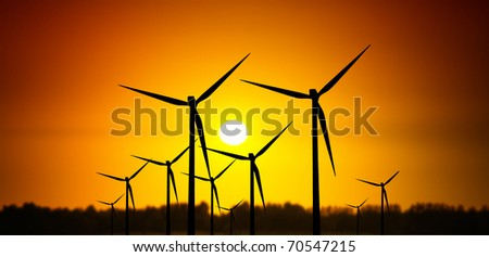 Sunny Power - stock photo
