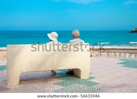 Sunny retirement - stock photo