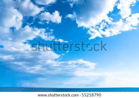 Sunny Skies - stock photo