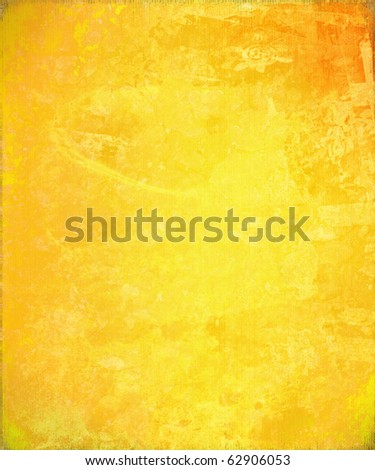 Sunny Yellow Abstract Background - stock photo