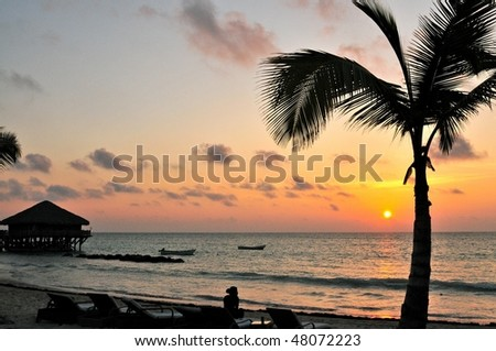 Sunrise at a Beach