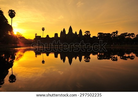 Sunrise at Angkor Wat  Cambodia