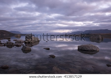 Sunrise at Lake Tekapo, New Zealand