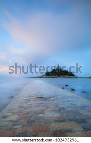 Sunrise at St Michaels Mount, Cornwall