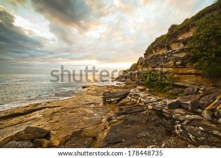 sunrise - Australia  - stock photo