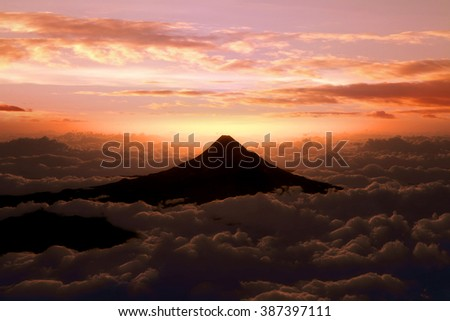 Sunrise of Mount Fuji