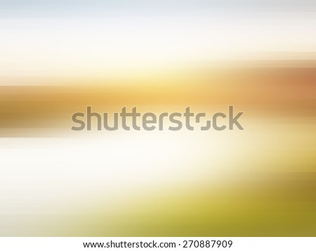 Sunrise on a Foggy Mountain Lake,high dynamic motion blur,blurred background with patches of sunlight - stock photo