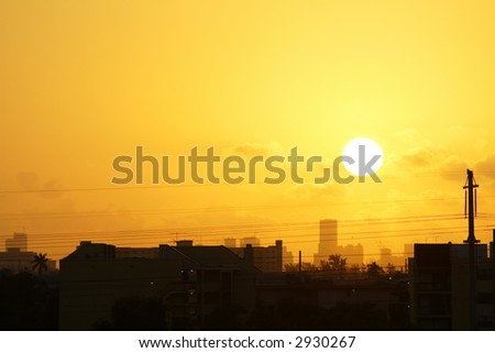 Sunrise Over The City 3